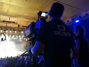 TV Show Aufzeichnung Kamerazug mit Boxoptik