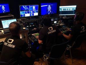 Live-Aufzeichnung Flightcase Regie mit CCU