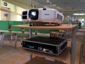 Livestream Praesentation Scaler