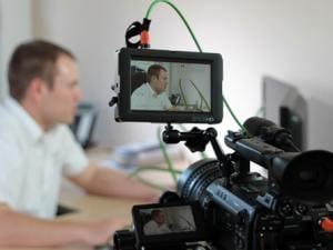 Dreharbeiten Imagevideo