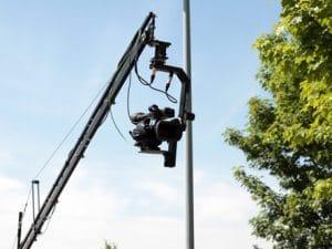 Aufnahmen mit Kamerakran für Unternehmensfilm
