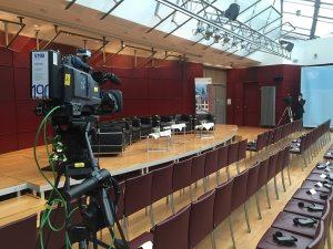 Liveaufzeichnung Kongress und Konferenz mit Kameras