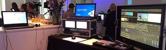 Mobile Bildregie Pressekonferenz Berlin