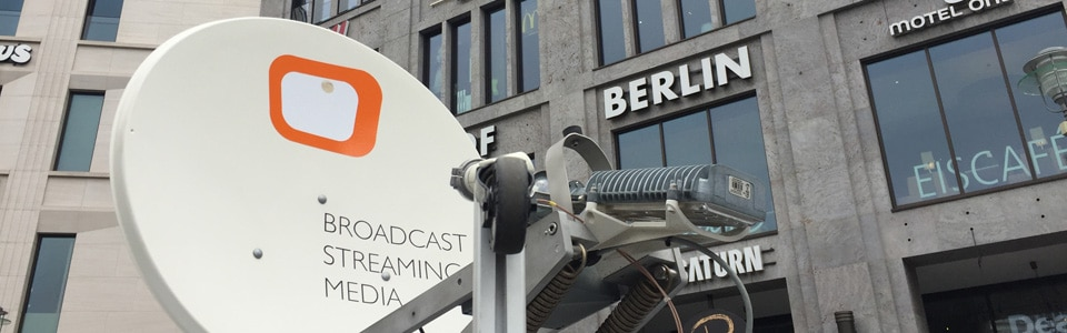 BMK.TV Livestream Satelliten-Uplink-Berlin
