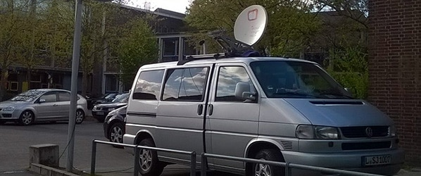 BMK.TV Blog: Livestream via Satellit für Public Viewing