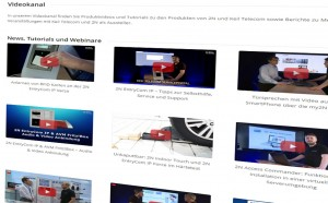 Mediathek und Videomanagement