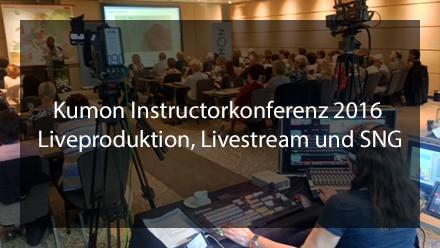 Liveproduktion, Livestream und SNG