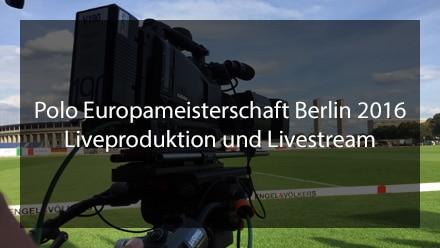 Liveproduktion und Livestream