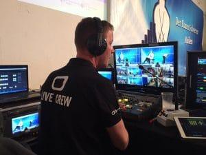 SLOMO Operator an der Bildregie