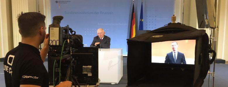 Handelsblatt: Liveübertragung aus Berlin und New York