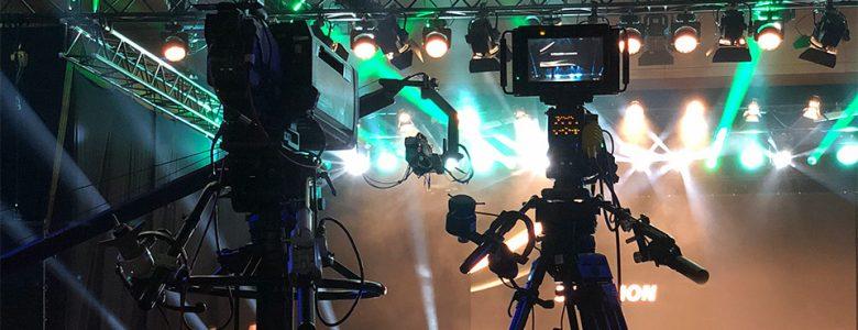 Mehrkamera Showproduktion Live-on-Tape
