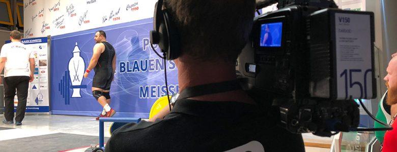 Multikamera Liveproduktion vom Meißen Cup 2018