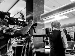 Produktion von Hotelfilm