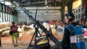sport liveproduktion kamerakran