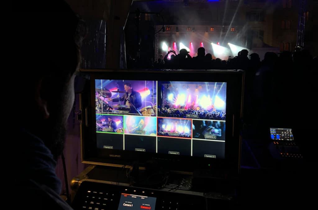 Bildregie Konzert Livestream