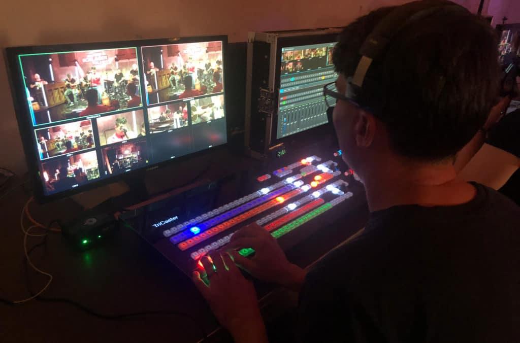 Regie und Bildtechnik für Live-on-Tape